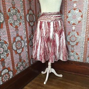 Great fall swing skirt!